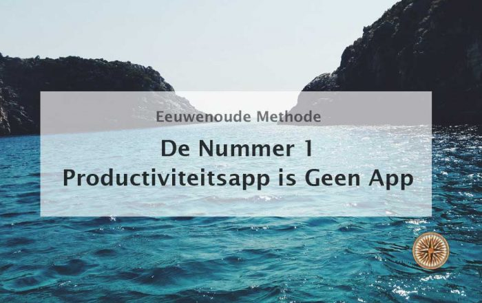 productiviteitsapp productiever werken slimmer werken app vliegtuigmodus nummer 1