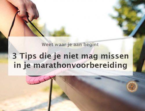 Marathonvoorbereiding: 3 Tips die je niet mag missen