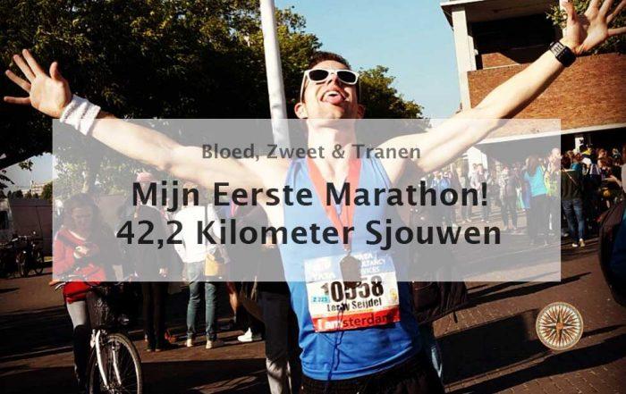 mijn eerste marathon