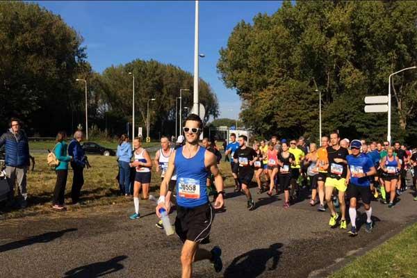 training laatste week voor marathon