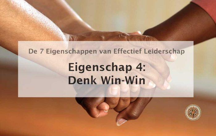 denk win win eigenschap 4 win win situaties voorbeeld stephen covey de zeven eigenschappen van effectief leiderschap