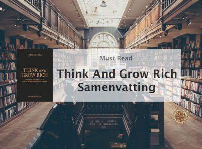 think and grow rich samenvatting napoleon hill michael pilarczyk