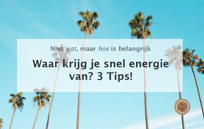 waar krijg je snel energie van 3 tips snel energie krijgen