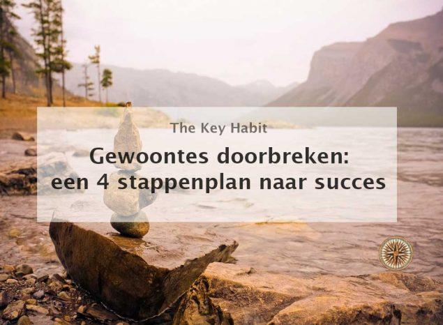 gewoontes doorbreken een 4 stappenplan naar succes goede gewoontes aanleren slechte gewoontes afleren