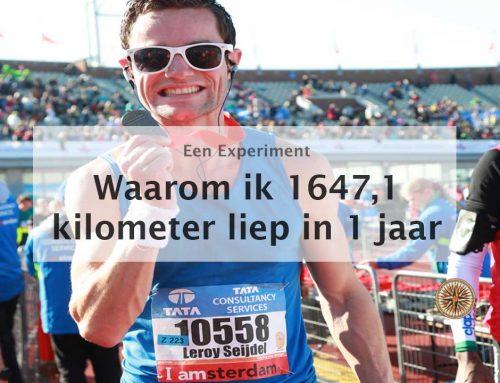 Waarom ik 1647,1 kilometer liep in 1 jaar
