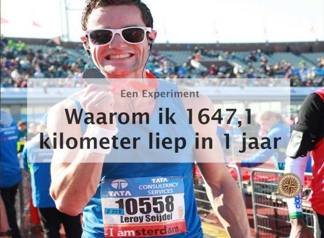 waarom-ik-1647,1-kilometer-liep-in-1-jaar hardlopen leroy