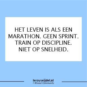 discipline ontwikkelen verbeteren trainen discipline tips
