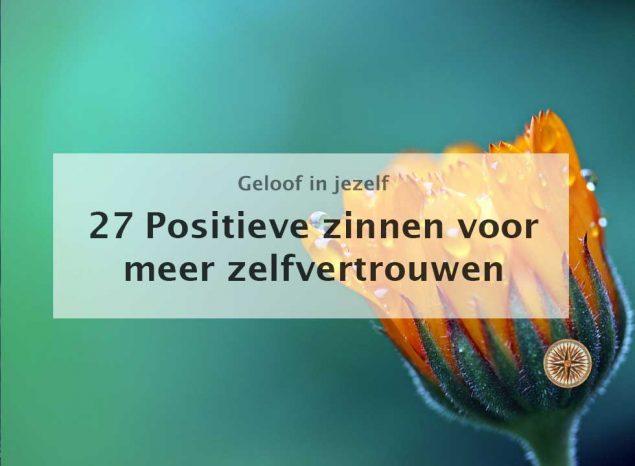 Geliefde Positieve zinnen voor meer zelfvertrouwen: 27 affirmaties! | Leroy #HN56