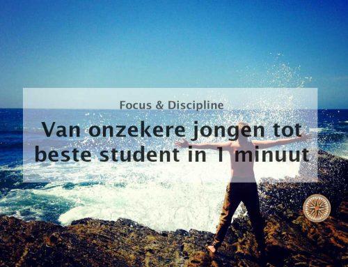 Van onzekere jongen naar beste student in 1 minuut