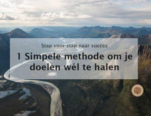 1 Super simpele methode waarmee je je doelen wél haalt