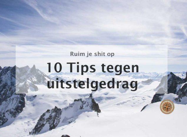 10 tips tegen uitstelgedrag