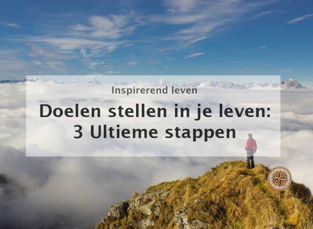 doelen stellen in je leven: 3 ultieme stappen! - Leroy Seijdel
