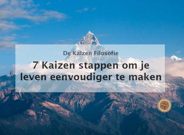 kaizen stappen om je leven eenvoudiger te maken doelen bereiken kaizen filosofie kaizen principe kaizen toepassen