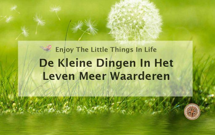 geniet van de kleine dingen in het leven genieten waarderen kleine dingen gelukkig maken worden