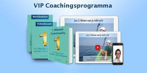 vip coachingsprogramma 1 minuut community