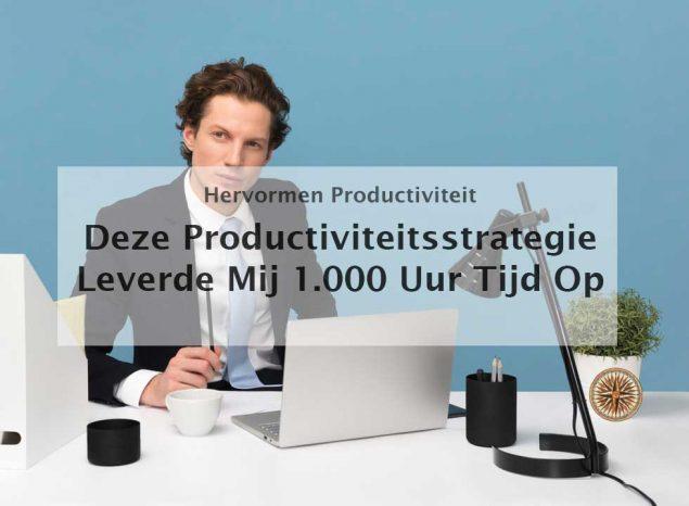 productiviteitsstrategie