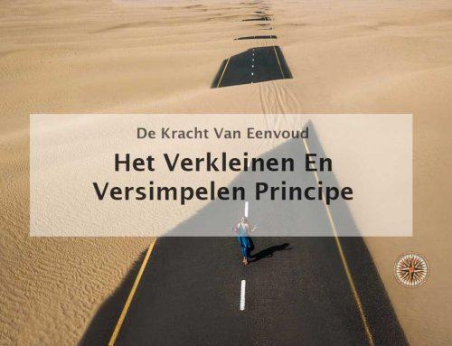 Het verkleinen en versimpelen principe