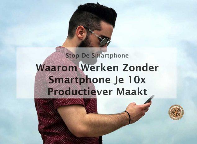 werken zonder smartphone