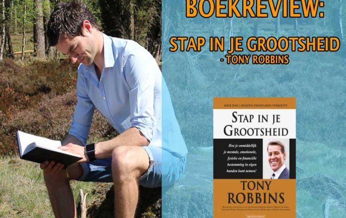 stap in je grootsheid boekrecensie tony robbins samenvatting nederlands boekreview pfd