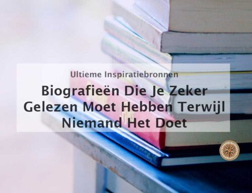 Biografieën die je gelezen moet hebben terwijl niemand het doet