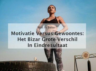 motivatie versus gewoontes motivatiestrategie gewoontestrategie motivatie en gewoontes
