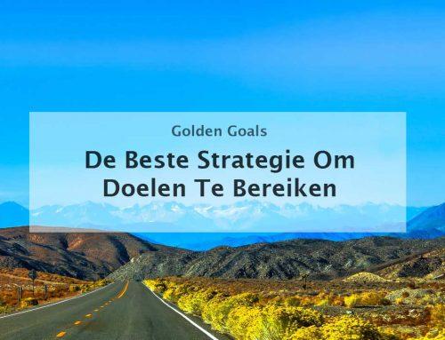 De beste strategie om doelen te bereiken