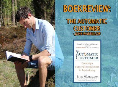 the automatic customer meer klanten krijgen klanten werven leden krijgen online lidmaatschap abonnementen membership marketingfunnel online marketing boekrecensie review nederlands pdf epub