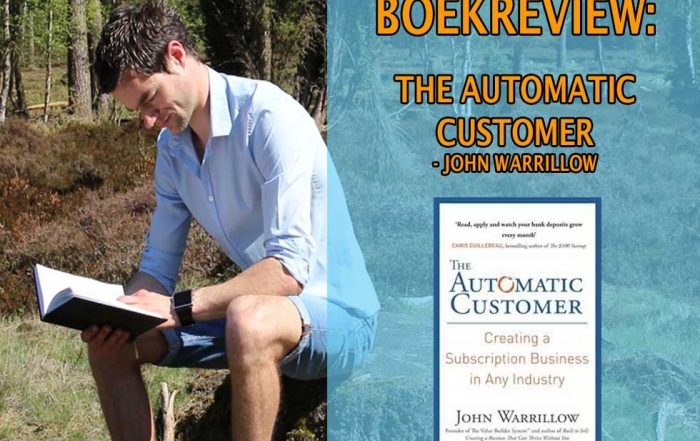 the automatic customer meer klanten krijgen klanten werven leden krijgen online lidmaatschap abonnementen membership marketingfunnel online marketing boekrecensie review nederlands pdf epub