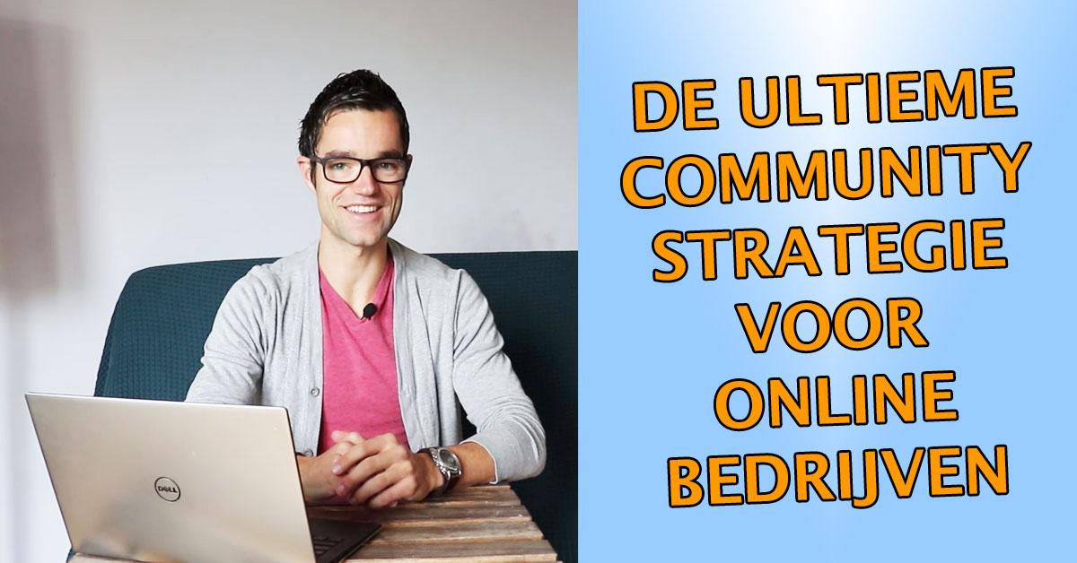 Community building strategie voor-online-ondernemingen